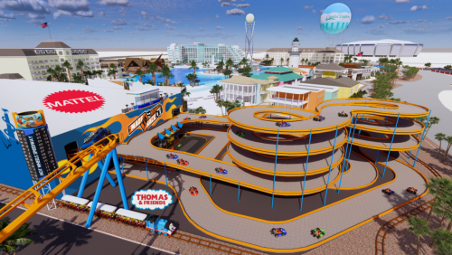 There's a Mattel Theme Park Coming & Here's What You Need to Know
