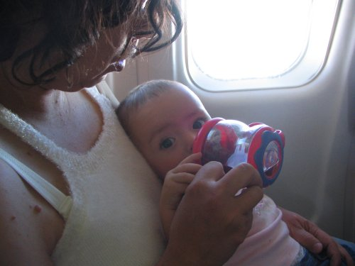 How to Breeze Through Your Baby's First Airplane Trip