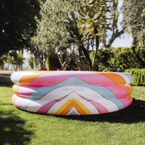 Head to Malibu with FUNBOY's New Barbie Inflatable Pool