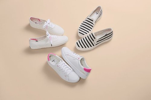 The Keds x HATCH Collection Is Dreamy Style for Moms on the Go
