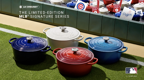 Play Ball! Le Creuset Just Teamed Up with MLB on New Dutch Ovens