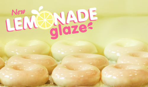Sweet, Sour & Super Limited: Krispy Kreme Launches Lemonade Glazed Donuts