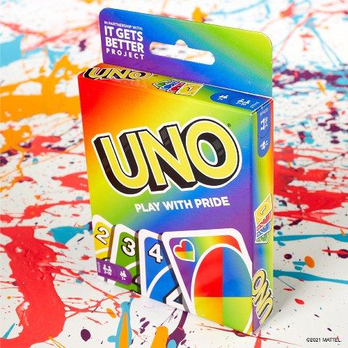 UNO's New Rainbow-Hued Deck Celebrates Inclusivity & Gives Back