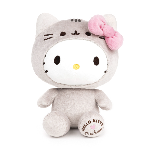 The Adorable Pusheen & Hello Kitty Collab You'll Totally Love