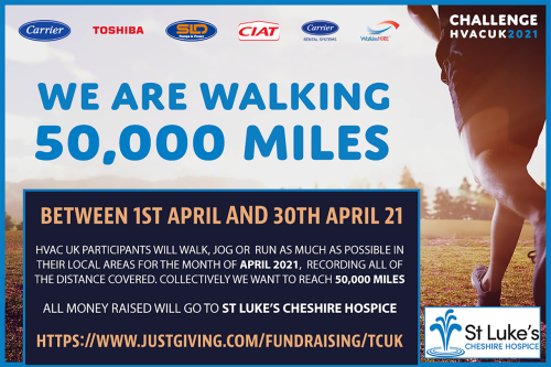 TCUK Team Limbers up for 50,000 Mile Challenge in Spring Fitness Drive for Charity