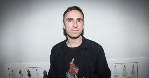 The Moment That Gave Us Raf Simons, Fashion Designer