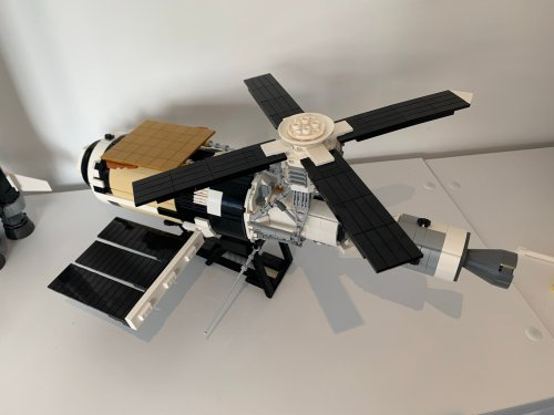 Is that... is that a piece of Unikitty? Remembering Skylab via the medium of Lego