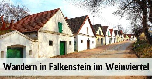 Wandern in Falkenstein - Unterwegs im Weinviertel in Niederösterreich