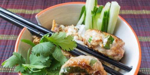 Vietnamesisches Rezept – Honigfrikadellen mit Reisnudeln | Reisehappen