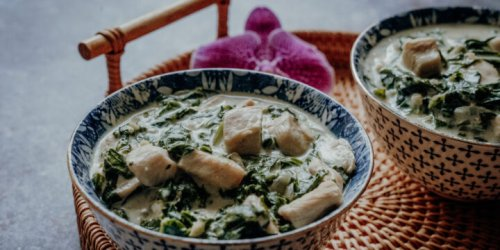 Chicken Fa fa - Tahitianisches Huhn in Kokoscreme   Reisehappen