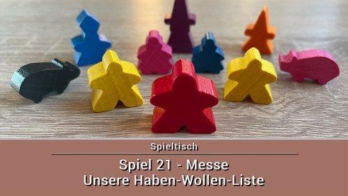 Spiel 21 - Die Spielemesse in Essen