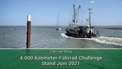 4000 Kilometer Challenge 2021 – Stand Juni