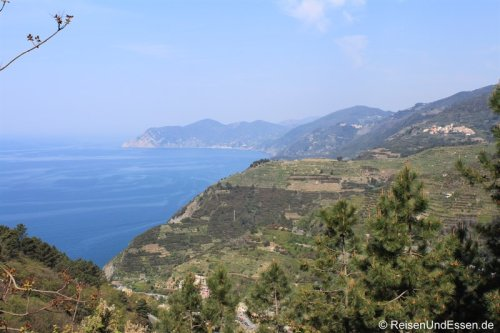 Wanderung nach Portovenere und Bootsfahrt entlang der Cinque Terre