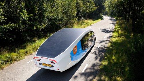 Das erste solarbetriebene Wohnmobil der Welt fährt durch Europa