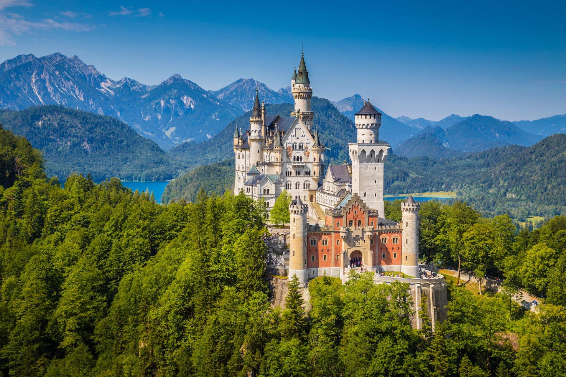 Burgen in Deutschland - Top 20 schönste Schlösser im Überblick