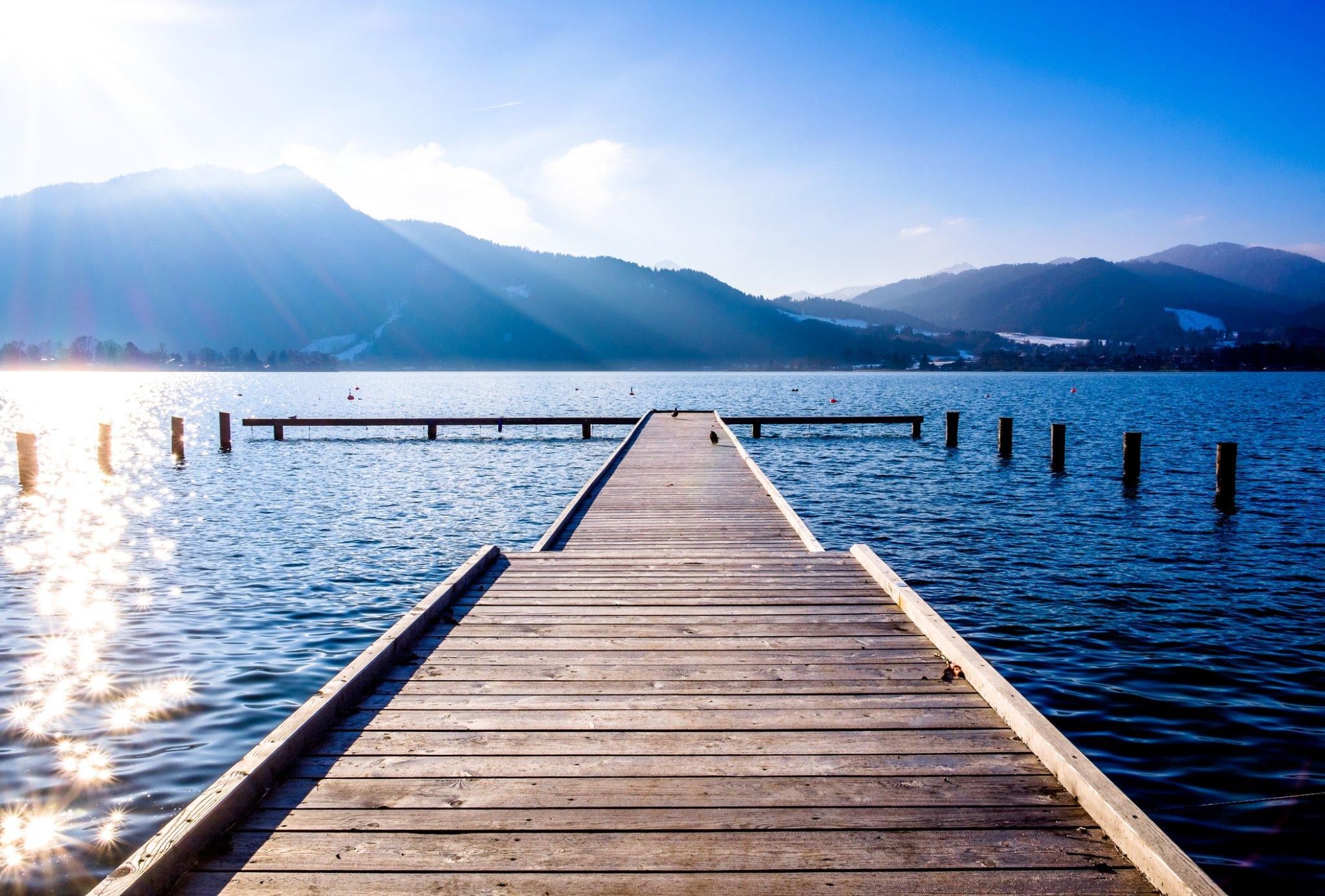 Unbekannte Seen in Bayern - 12 versteckte Orte zum Abschalten