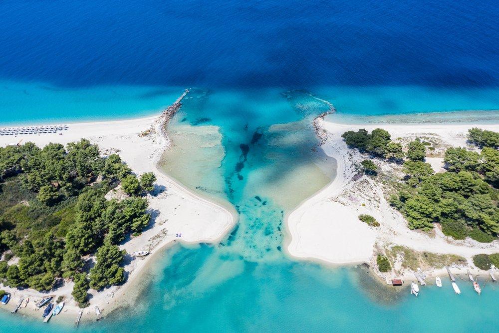 Chalkidiki - die faszinierende Halbinsel Griechenlands - cover