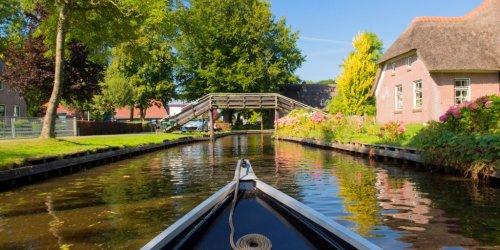Kurzurlaub in Giethoorn - 2 Tage Venedig des Nordens