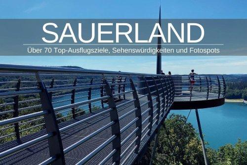 Ausflugsziele im Sauerland » Karte mit 70+ Highlights