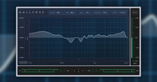 Gullfoss updated with new features, improved equalizer engine and Gullfoss LIVE