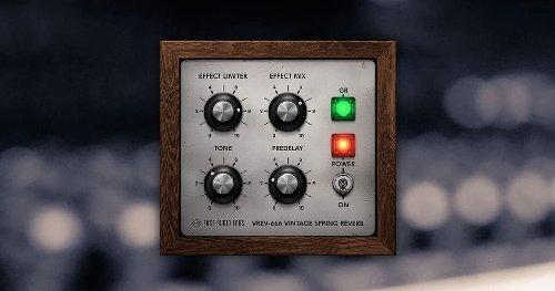 VREV-666 free 60s vintage spring reverb plugin by Fuse Audio Labs