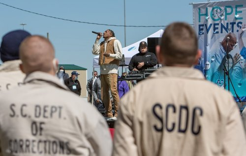 Lecrae, Bieber appear at prison events as ministries return to correctional facilities
