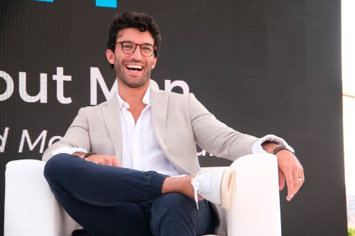 Man or robot? Justin Baldoni takes on toxic masculinity in a new book