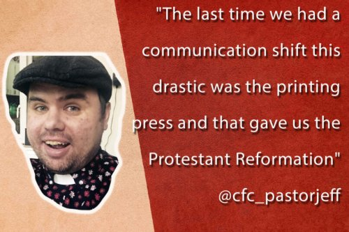 'The last time we had a communication shift this drastic was the printing press'