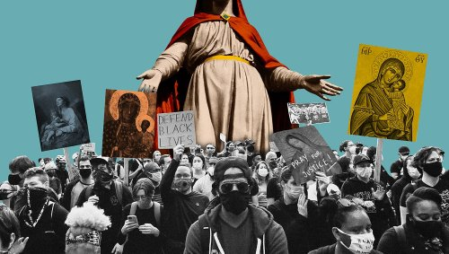 Mary, mother of Jesus, returns as an icon for pop stars and social justice warriors