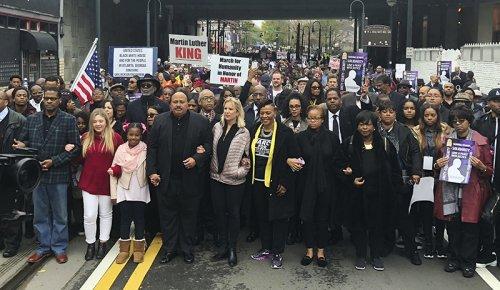 Martin Luther King III calls new voting legislation 'greatest hypocrisy'