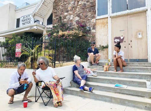 Rolling Stone's publisher planned to convert a Black church into his home, but residents fought back to preserve it