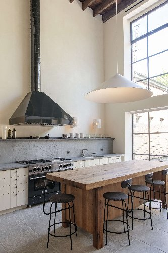 Steal This Look: A Grand Scale Double-Height Kitchen in Brooklyn - Remodelista