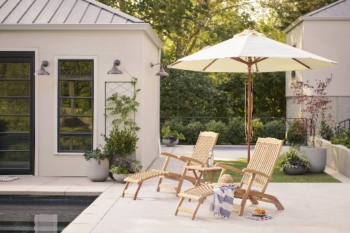 Outdoor Project: Five Tips for Creating an Ideal At-Home Retreat, from Rejuvenation - Remodelista