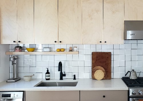 Rehab Diary: A Dated Kitchen Gets a Modern Upgrade in Maplewood, NJ - Remodelista