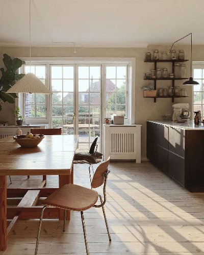 Steal This Look: A Danish Kitchen/Dining Room with Vintage Charm - Remodelista
