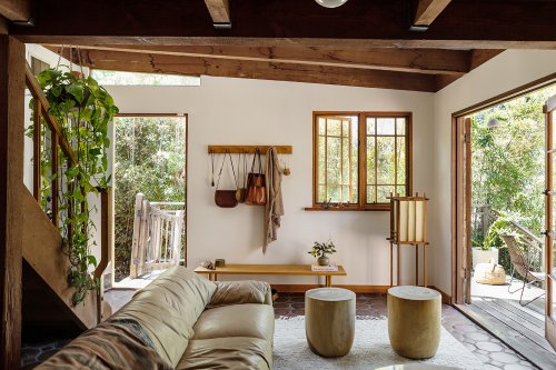 Before and After: A Summery Bungalow in Topanga, California, Redone by an LA Designer - Remodelista