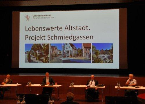 Ideen für den Winter: Projekt Schmiedgassen in Gmünd soll fortgeführt werden
