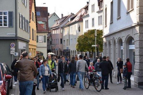 Verkaufsoffener Sonntag und Krämermarkt: Viel los in Gmünd