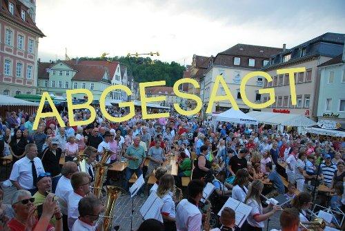 Stadtfest Gmünd: Absage auch für 2021