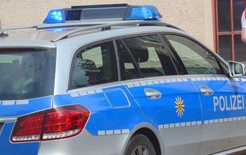 Polizeiaktion: Großkontrolle an der B 29 bei Lorch-Waldhausen