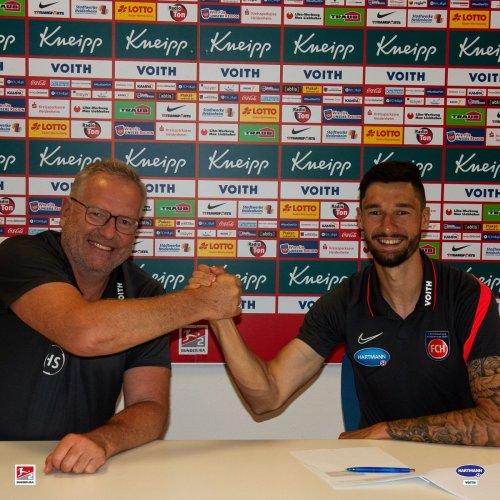 1. FC Heidenheim: Tim Kleindienst unterschreibt für vier Jahre