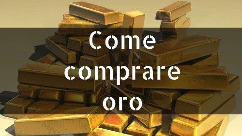 Come investire in oro? 🟡 Oro a buon prezzo nel 2021 [dove comprarlo?] | Rendite Passive