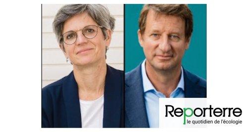 Sandrine Rousseau et Yannick Jadot, finalistes de la primaire écologiste. Leurs portraits, leurs idées