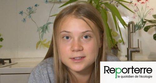Greta Thunberg : « L'inaction climatique est un choix délibéré »