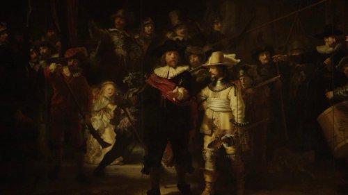 La parete era troppo piccola per un Rembrandt, che fu tagliato. Tre secoli dopo, un computer l'ha ricostruito