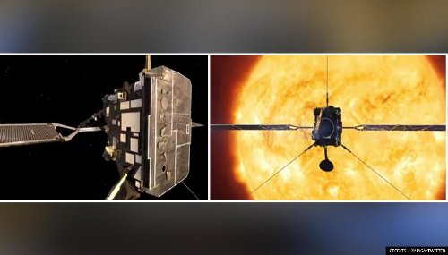 NASA's new space instrument SoloHI captures its first solar eruption: Watch