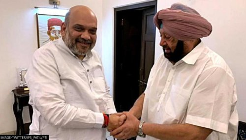 Capt Amarinder Singh to visit Delhi today, likely to meet Amit Shah & JP Nadda : Sources