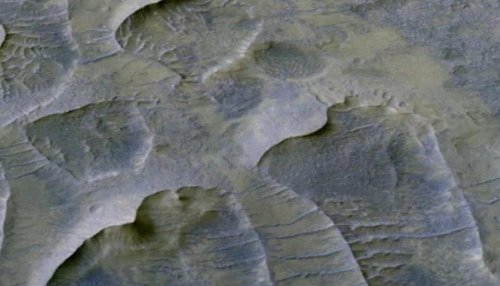 NASA finds billion-year-old sand dunes on Mars that reveal climate pattern of the planet