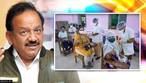Centre advises states against sharing vaccine stock data; Harsh Vardhan cites 'misuse'