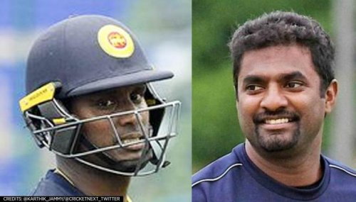 Sri Lanka cricket crisis explodes as Angelo Mathews & Muralitharan squabble over contracts